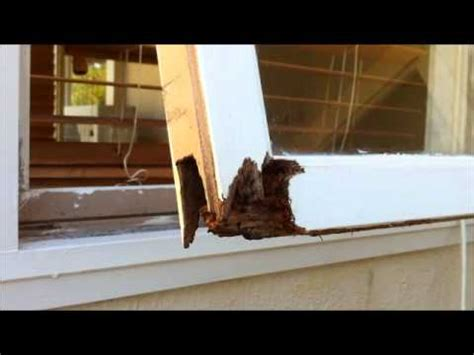 Fix Wood Rot On Window Framewmv Youtube