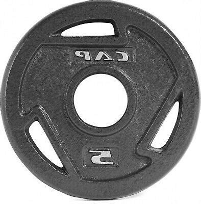 cap barbell   olympic grip plate cast