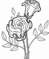 Coloring Pages Flower Rose Roses Printable Flowers Dead Sheets Drawing Happy Birthday Bestcoloringpagesforkids Simple Adult Getdrawings Plant Paper Getcoloringpages Books sketch template