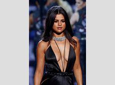 Selena Gomez plays it sexy at the Victoria's Secret