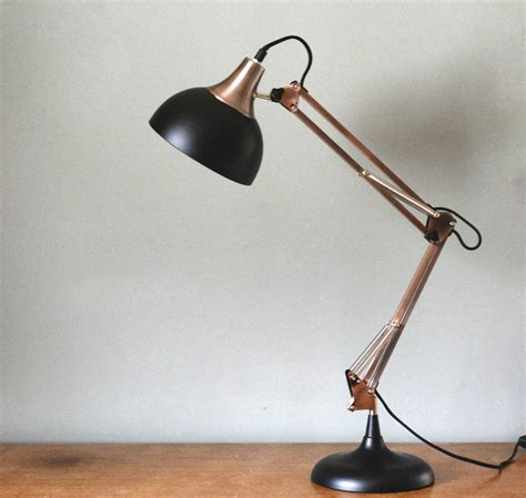 Large Copper And Black Desk Lamp By The Forest & Co. Modern Vanity Lights. Nest Interiors. Green House With White Trim. Landscape Design Austin. Puryear Pools. Wall Panels. Industrial Kitchen Lighting. Patco Construction