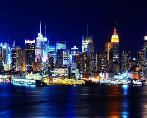 new york city lights at www imgkid the image