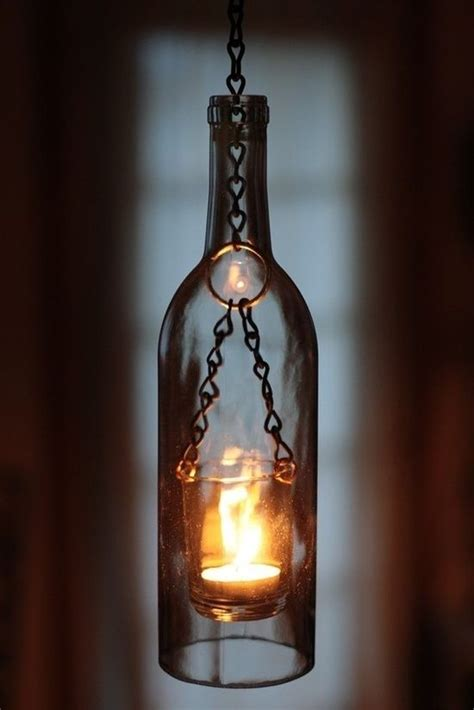 50 coolest diy pendant lights lighting wine bottle lanterns wine bottle crafts diy pendant