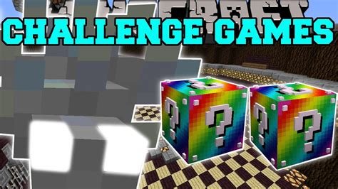minecraft omegafish challenge games lucky block mod