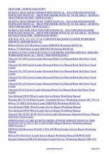 Kubota Front End Loader La480 La680 La481 La681 La852
