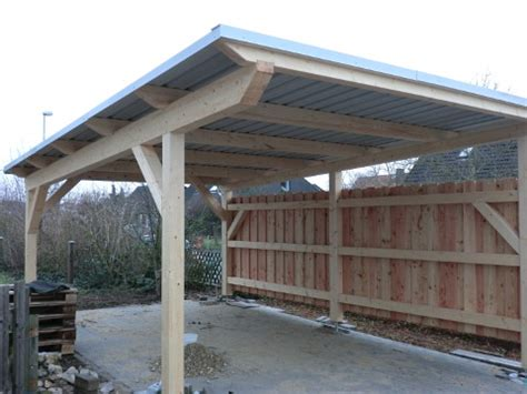 Carport Mit Trapezblech Nabcd