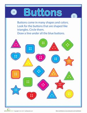 on the button grouping and sorting worksheet 247   button grouping sorting counting numbers