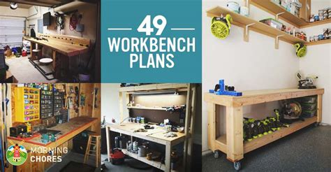 Free Diy Furniture Plans How 49 Free Diy Workbench Plans Ideas To Kickstart Your Woodworking Journey