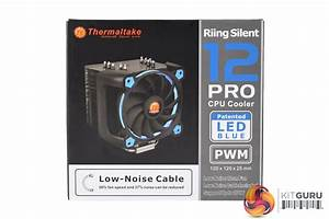 Thermaltake Riing Silent 12 Pro Cooler Review