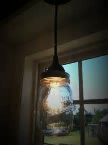 jar pendent light for the sink kitchen ideas