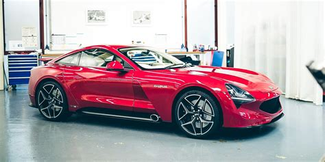 tvr griffith unveiled   seater marks official