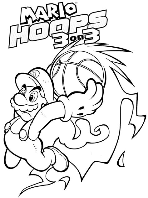 The children are so familiar with super mario. Mario Coloring pages - Black and white super Mario drawings for you to color in