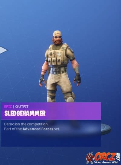 fortnite battle royale sledgehammer orczcom  video