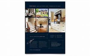 rental property flyer template - luxury home real estate flyer template design