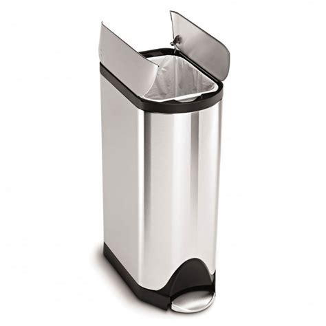 poubelle cuisine pedale 30 litres poubelle de cuisine à pédale 30 litres inox brossé