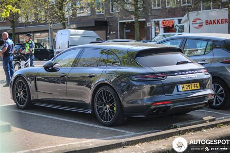 The new panamera, unveiled in 2016, did much to silence the critics of its visual design, but it's the sport turismo variation that really clicked with me. Porsche 971 Panamera Turbo S E-Hybrid Sport Turismo - 17 April 2020 - Autogespot