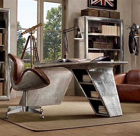 aviator wing desk furniture aviator wing desk inspired by airplane