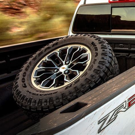 canyon spare tire carrier cargo bed mounted zr