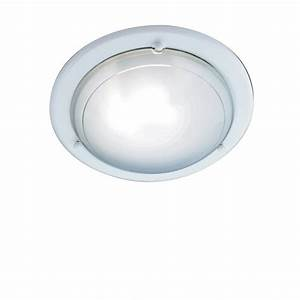 Searchlight electric jupiter wh white with glass shade flush ceiling light