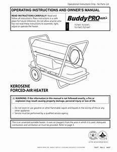 Mr  Heater Ts125kt Operating Instructions