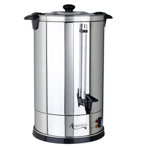 coffee maker hot water urn 110 cup