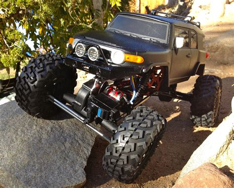 Rc Car Buggy Truck Custom Crawler Toyota Fj Cruiser 4wd