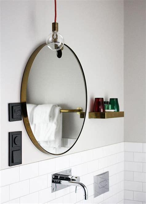 miroir ikea rond regardsetmaisons le miroir de salle de bain