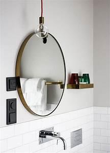 Miroir Salle De Bain Rond : regardsetmaisons le miroir de salle de bain ~ Teatrodelosmanantiales.com Idées de Décoration