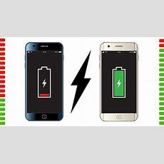 Diese Smartphones Haben Den Besten Akku Ajouremende