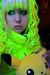 1000 images about Neon Green Hair on Pinterest