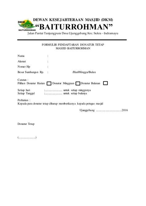 gambar gambar konfirmasi donasi kirim contoh formulir