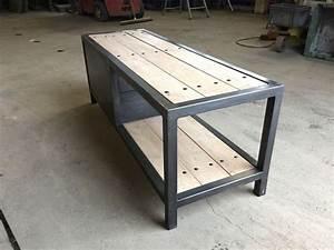 Meuble Tv Bois Et Fer : meuble bois fer ~ Teatrodelosmanantiales.com Idées de Décoration
