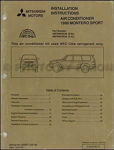 97 Mitsubishi Montero Sport Fuse Diagram