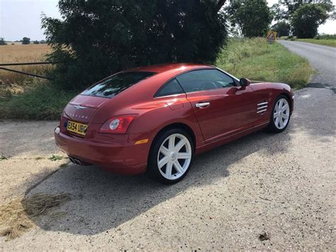 Chrysler Crossfire Used by Chrysler Crossfire Cars For Sale Autovolo Uk