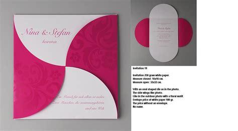 design business invitation cardcompetitive price