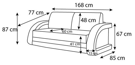 dimension canapé lit canapé convertible en lit canapé lumineux collection mirco