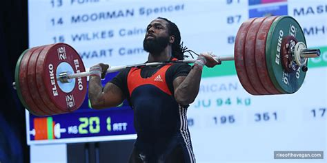 Only Male Us Weightlifter In Olympics Is Vegan