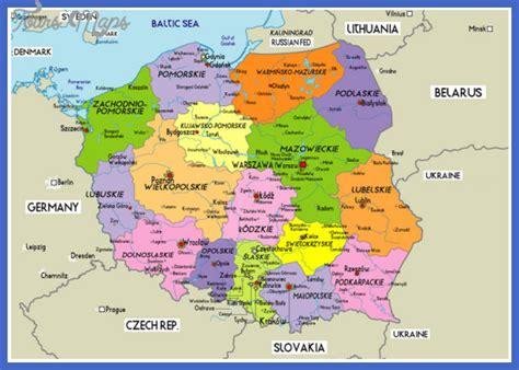 Poland Map - ToursMaps.com