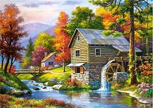 Puzzle En Ligne Adulte : old sutter 39 s mill 500 teile castorland puzzle acheter ~ Dailycaller-alerts.com Idées de Décoration