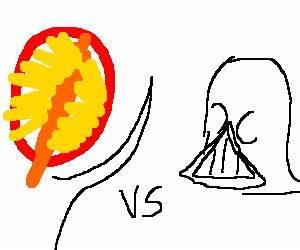 Sauron vs Darth Vader - Drawception