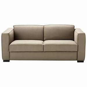 Maison Du Monde Berlin : ausziehbares 3 sitzer sofa aus baumwolle taupe berlin ~ A.2002-acura-tl-radio.info Haus und Dekorationen