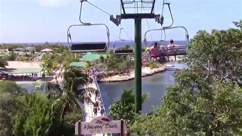chair lift to mahogany bay on roatan island