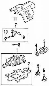 2002 Pontiac Grand Prix Engine Cover  Liter  Wsupercharger