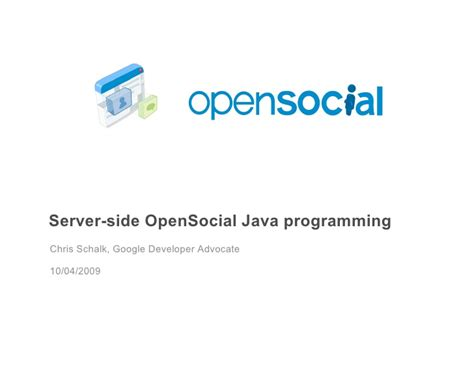 Serverside Java Programming