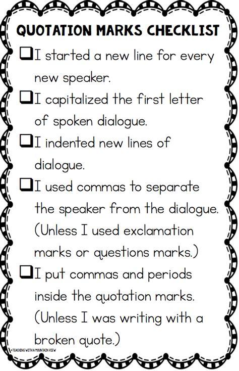 4th grade 187 quotation marks worksheets 4th grade