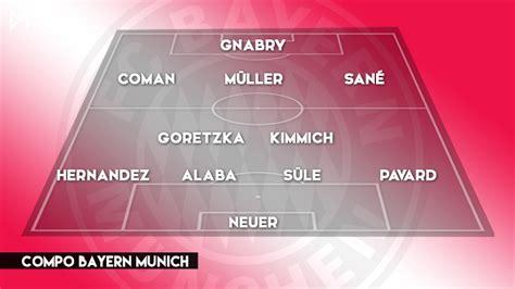 Bayern-PSG : Lucas Hernandez et Gnabry titulaires