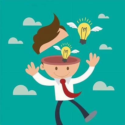 Innovation Vector Inspiration Inspirational Illustration Idea Head
