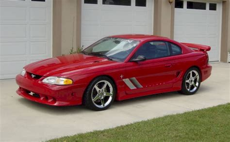 Rio Red 1995 Saleen S351 Ford Mustang Coupe