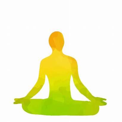Transparent Yoga Background Meditation Padmasana Objects Lotus