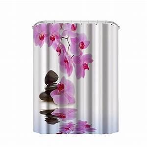 popular purple shower curtains buy cheap purple shower With flower bathroom sets